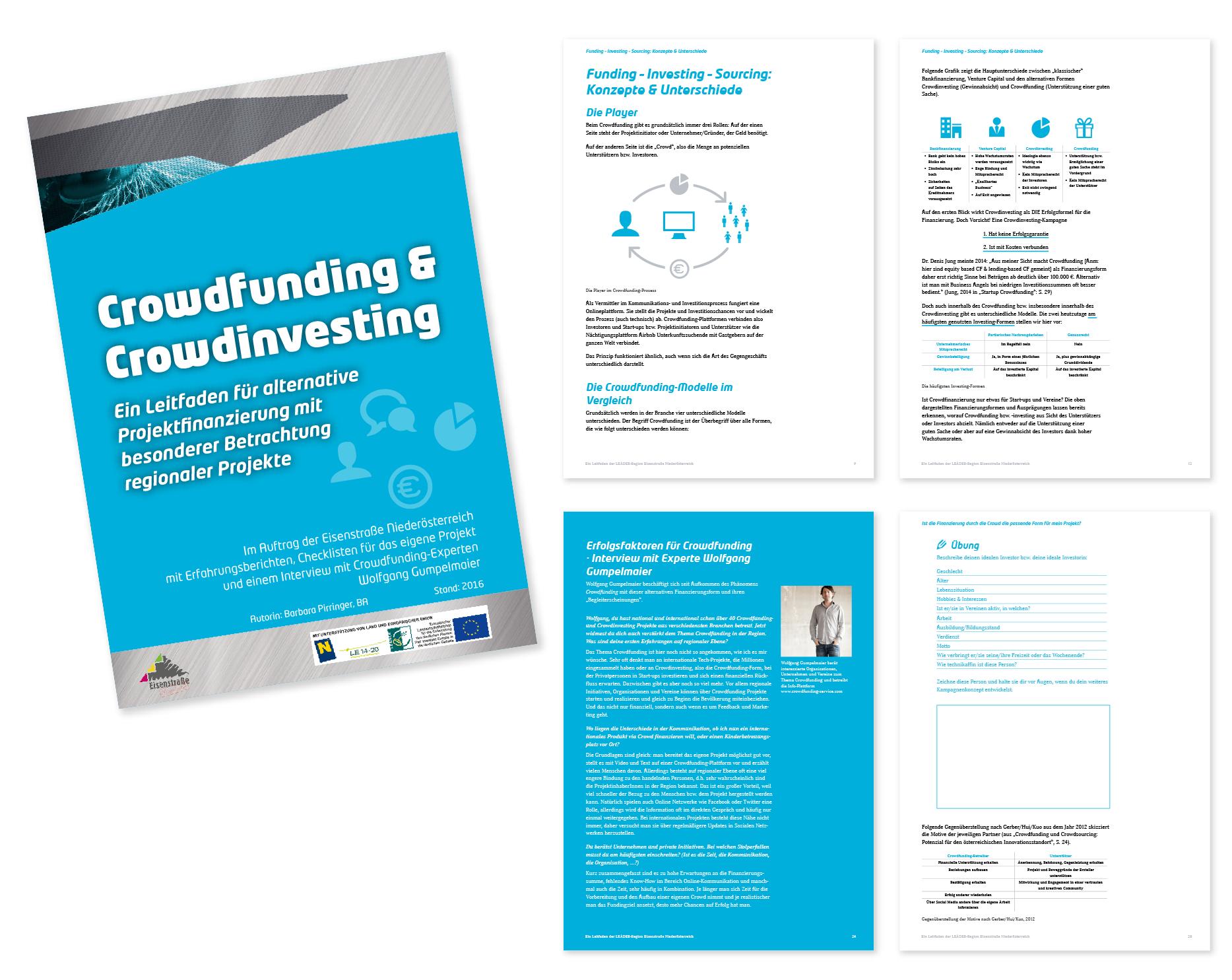 Leitfaden Crowdfunding & Crowdinvesting der Eisenstrasse Niederösterreich von Barbara Pirringer, P&R